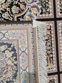 فرش طرح کژال قهوه ای 1200 برجسته