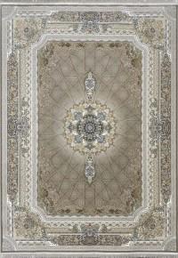 فرش طرح گلسار بژ 1200 برجسته